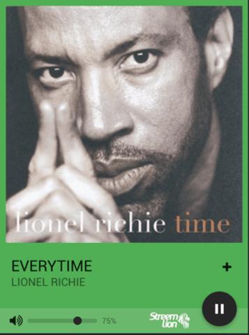 Lionel Richie album art