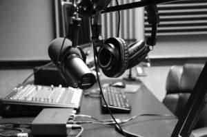 Internet Radio Mic & Headphone